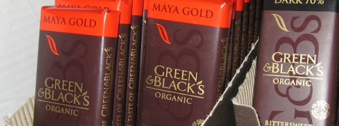 Green & Blacks Maya Gold (photo by binaryape)