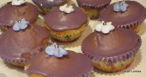Lemon Fairy Cakes